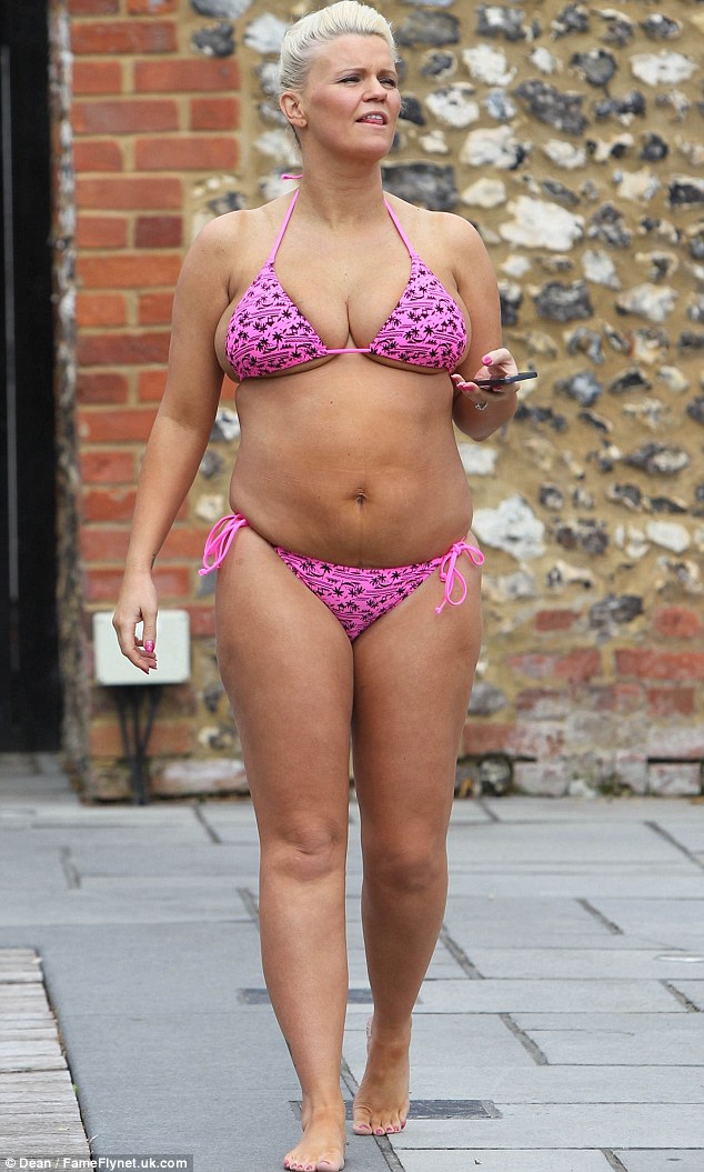 Singer and Media Personality Kerry Katona Shows off Her ...