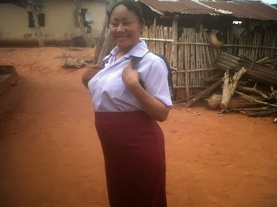 Nollywood Actors Ngozi Ezeonu (49) and Chiwetalu Agu (58) Goes Back To School in Their Latest Movie
