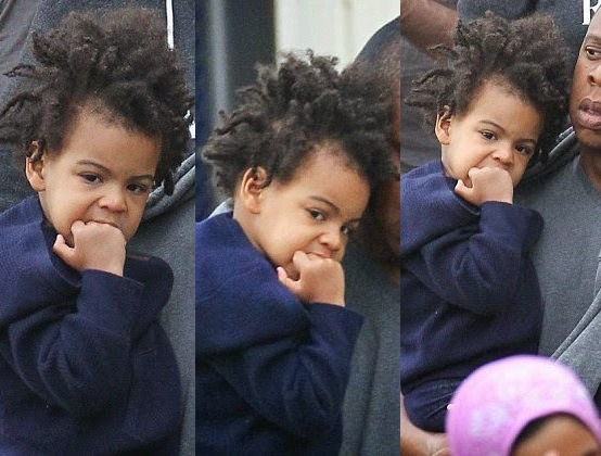 Who in Hell knew Royal Baby Blue Ivy was on Dreads? [Photos]