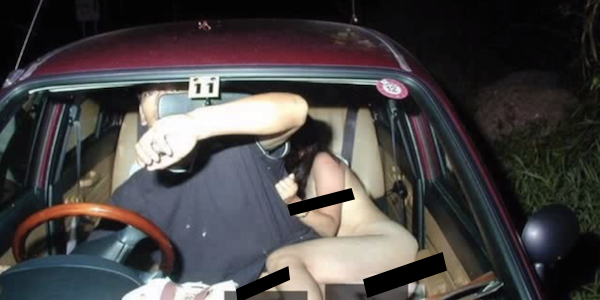 Watch: Woman Breaks Both Legs During Threesome after Car Crashes Into Tree (NSFW)