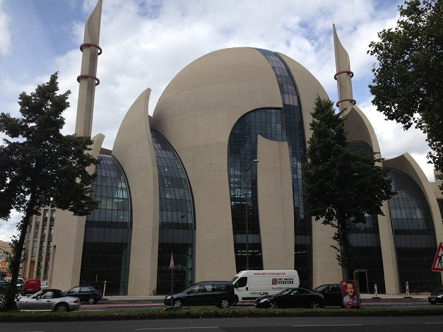 Mosque in Cologne Germany 2