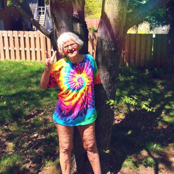 Meet The  Year Old Twerking Granny Baddie Wrinkle Who Has Been