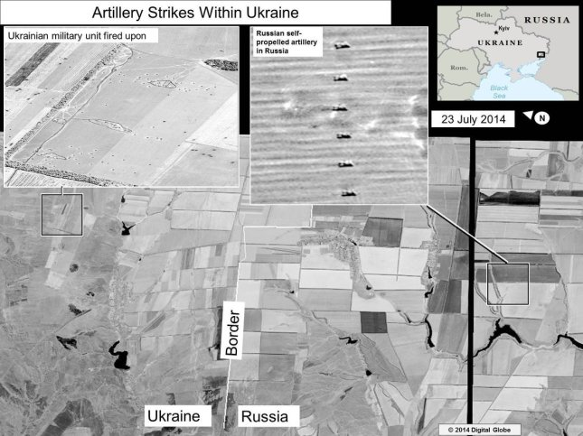 U.S. State Department releasses  Satellite Images Showing Russian Rockets Hitting Ukraine