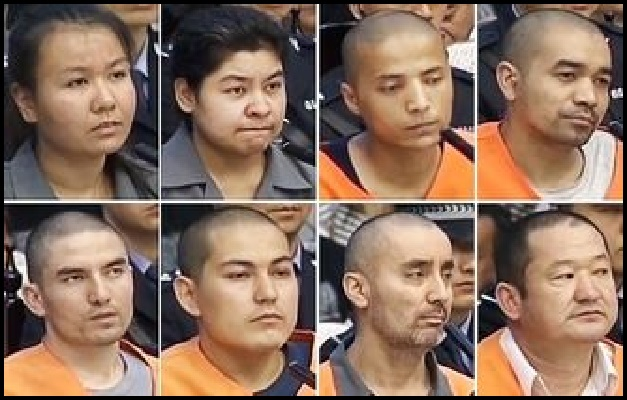 China - 8 Muslim Terrorists Executed 1 (resized)