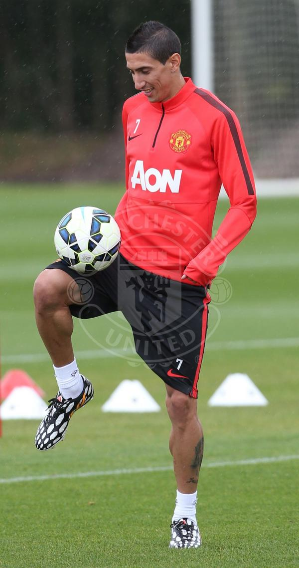 Angel Di Maria: The new Manchester United's No. 7