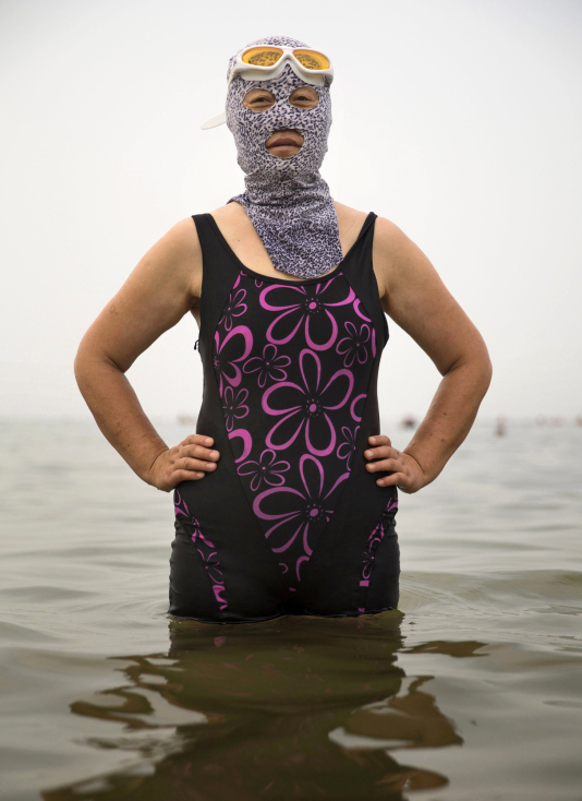 China's Face-kini Becomes Unlikely Global Fashion Hit