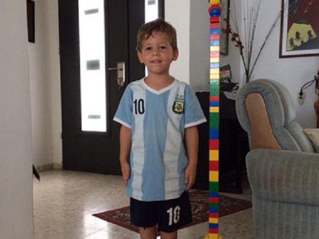 Israel - Daniel Tregerman 4-year-old boy (resized)