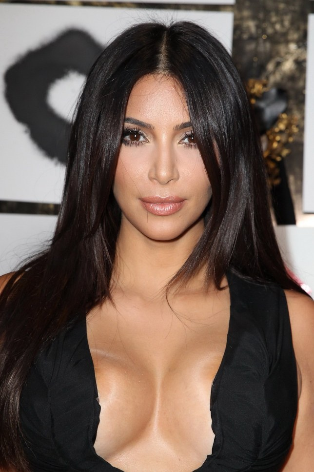Kim Kardashian Exposes EVERYTHING, Bare Bust Showing Boobies In New Photos