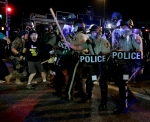 Violence Flares Anew in Ferguson Despite National Guard