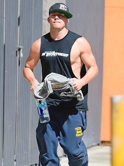 Ladies, Here is a photo of Channing Tatum, because you deserve it
