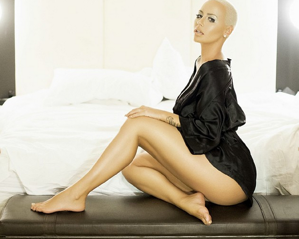 "Amber Rose ""Leaks"" Her Own Nudes [NSFW Photos]"