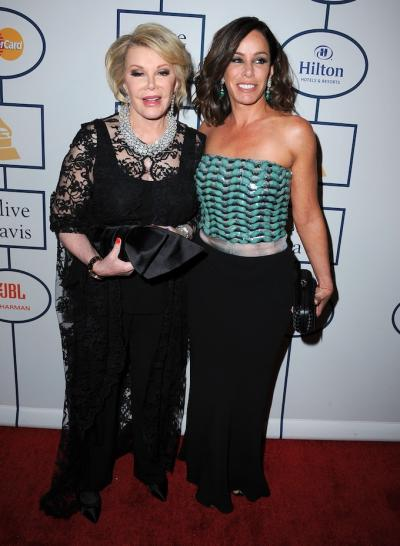 American actress, comedian and television host Joan Rivers is Getting Better!