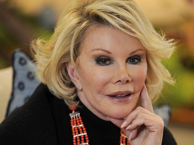 BREAKING: Renown American Actress and Comedian Joan Rivers is Dead at 81