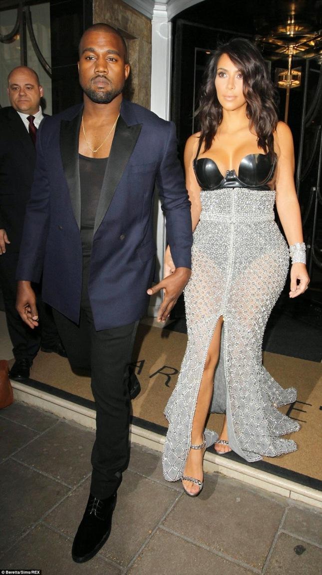 Kim and Kanyes