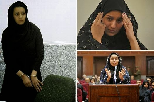 HEARTBREAKING Last Letter Of Iranian Woman Who Was HANGED For Killing A Man Who Tried To RAPE Her