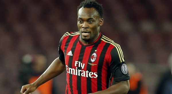 Breaking: Ghanaian International and AC Milan football star, Micheal Essien contracts Ebola