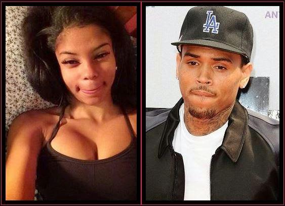 Chris Brown duży penis
