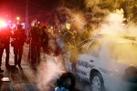 Police Order Protesters Off FergusonStreets