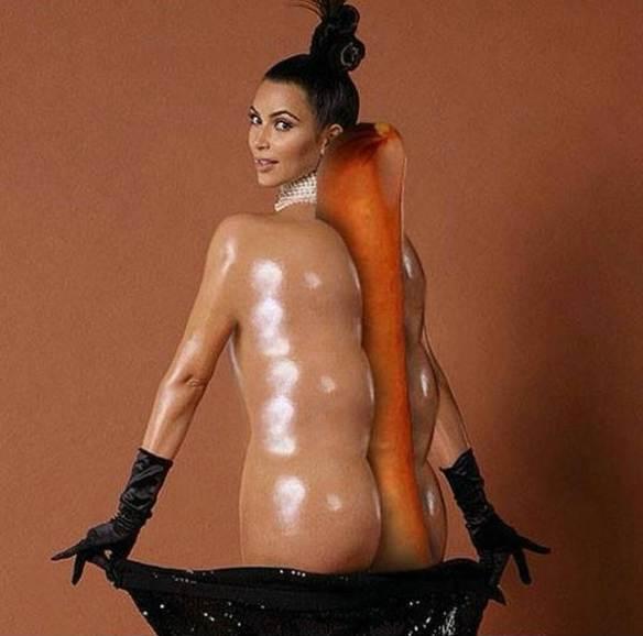 Kim-Kardashian-hot-dog-meme