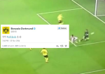 Yaya Sanogo FINALLY scores his first Arsenal goal, Borussia Dortmund then troll him on Twitter