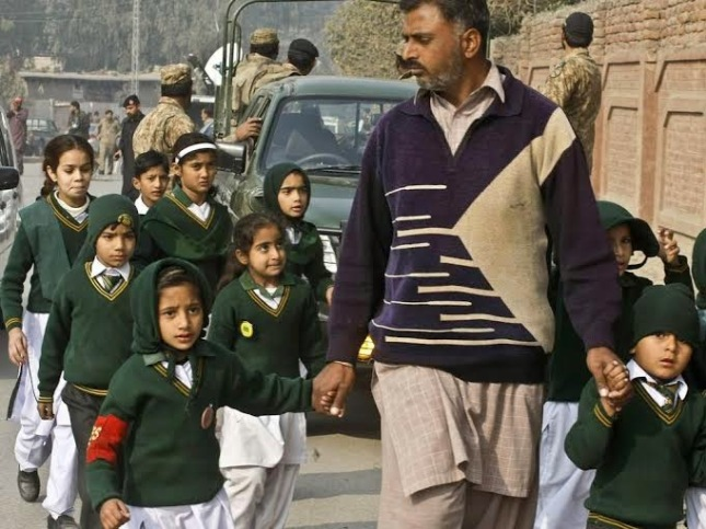 Siege at Pakistani School in the Northwestern Pakistani City of Peshawar Ends with 145 dead, including 130 Children!!!