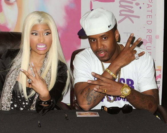 Nicki Minaj's Ex Boyfriend Samuels Safaree Threatens To Commit Suicide Over Breakup