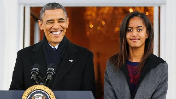 U.S. President Barack Obama's 16-Year-Old Daughter Malia is Pregnant