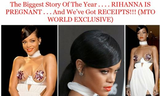 Rihanna is Pregnant with either Chris Brown's or Drake's Baby, MTO Reports