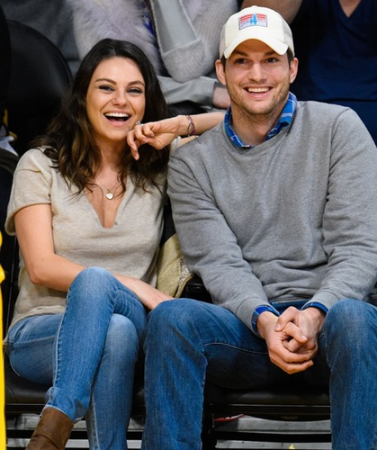 Meet Baby Wyatt Kutcher! Mila Kunis and Ashton Kutcher's Baby Pics Leaks to the Internet