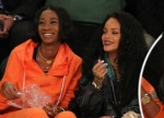 Where's Leo? Rihanna Sits Courtside At Basketball Game Without Her Rumored Beau