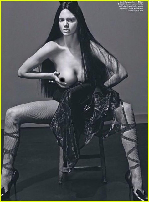 kendall-jenner-goes-topless-for-love-magazine-02