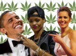 From Cheryl Fernandez-Versini to Rihanna, quite a few celebrities have smoked cannabis