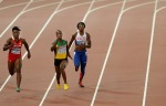Jamaican gold medalist ran in someone else's lane and didn't get disqualified
