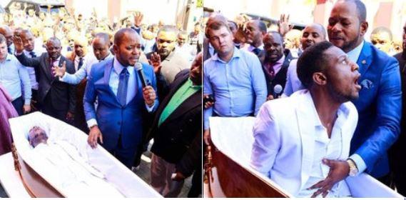 South African pastor Alph Lukau mahustlerszone